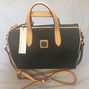 New Black Dooney and Bourke Satchel Handbag